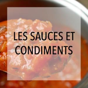 Les Sauces et Condiments